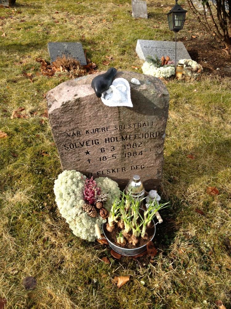 En grav å gå til…